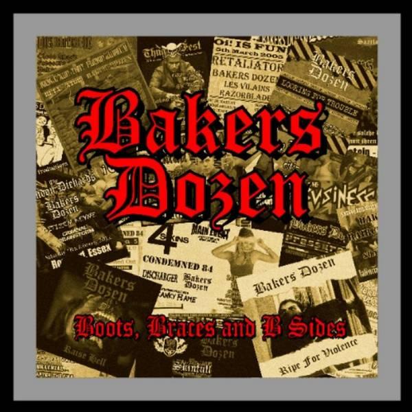 Bakers Dozen - Boots, Braces & B-Sides , CD lim. 300
