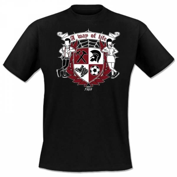 A way of life - since 1969, T-Shirt verschiedene Farben