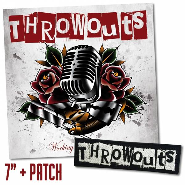 "Throwouts, The - Working Class Tradition, 7"" lim. 50 schwarz + Patch"