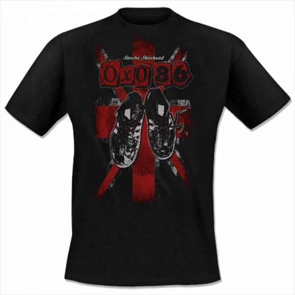 Oxo 86 - Samba Skinheads, T-shirt schwarz