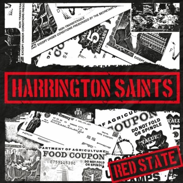 Harrington Saints - Red State, EP 7'' lim. verschiedene Farben