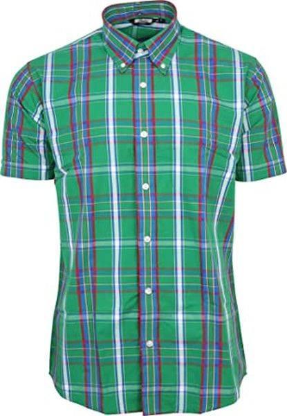 RELCO Clothing - Button Down Kurzärmel-Shirt CK31, verschiedene Größen