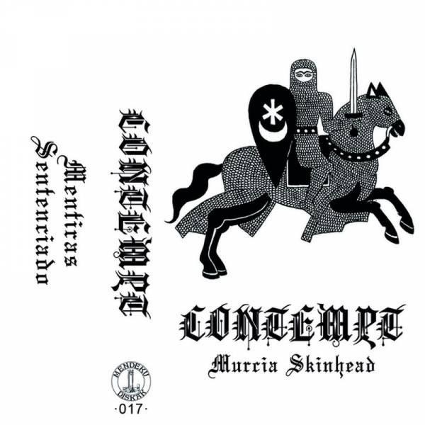 Contempt - Murcia Skinhead, Kassetten Single verschiedene Farben