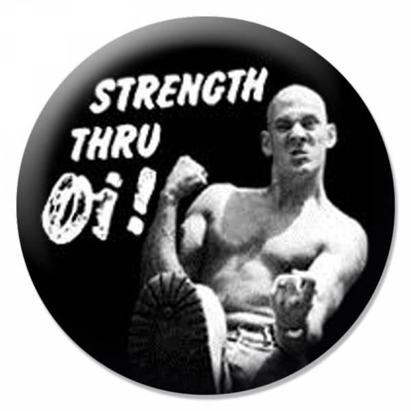 Strength thru Oi!, Button B122