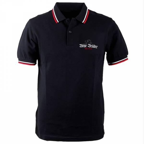 Böse Brüder - Logo, Poloshirt verschiedene Farben