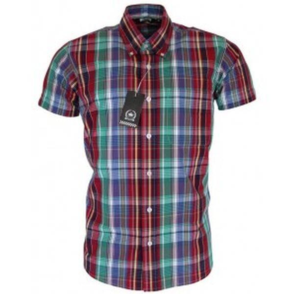 RELCO Clothing - Button Down Kurzärmel-Shirt CK26, verschiedene Größen