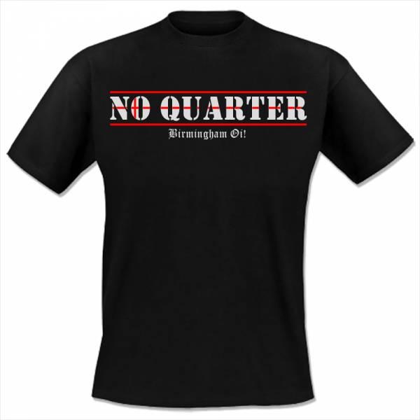 No Quarter - Birmingham Oi!, T-Shirt schwarz lim. 50, OTS Exklusiv