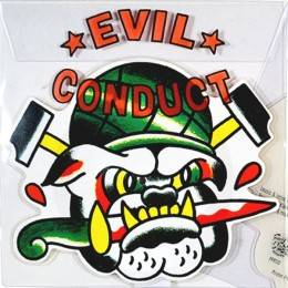 Evil Conduct - That old Tattoo, shaped PicEP 11'' lim. 1000
