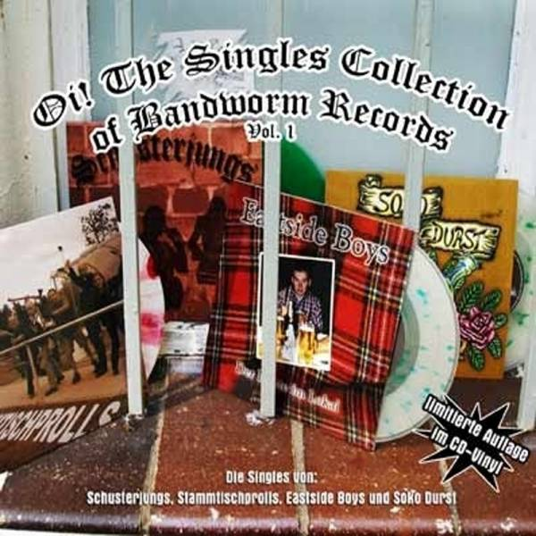 V/A Oi! the Singles Collection - Bandworm Singles, CD Digipack