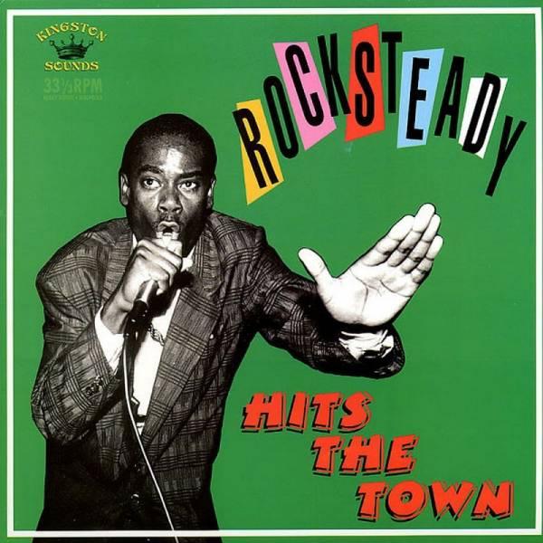 V/A Rocksteady Hits The Town, LP schwarz