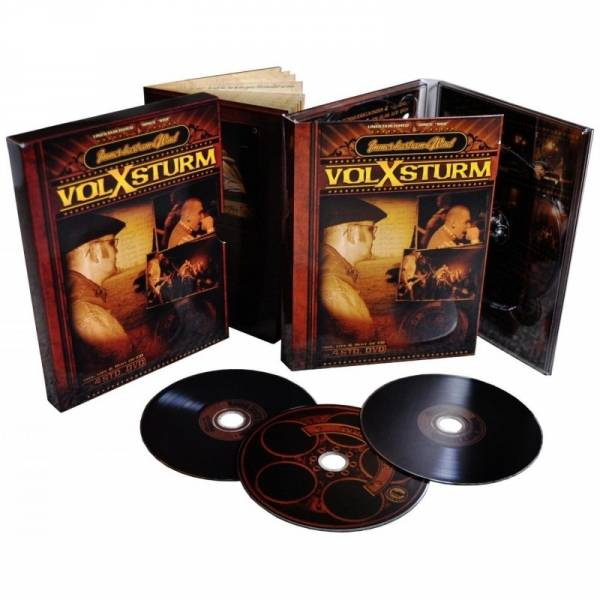 Volxsturm - Immer hart am Wind, DVD + 2CDs - Collectors Edition