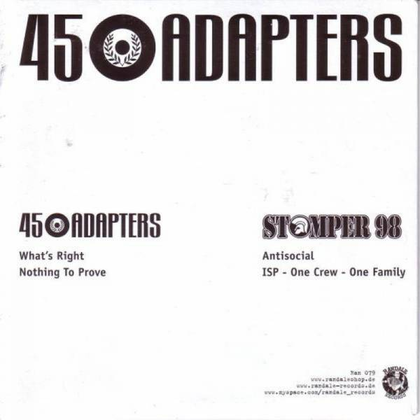 Stomper 98 / 45 Adapters – Dto., 7'' lim. verschiedene Farben