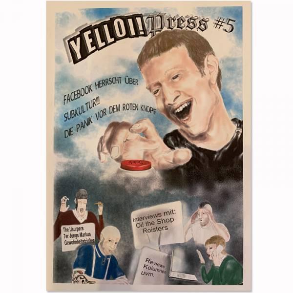 YellOi! Press No. 5, Fanzine A4 hoch