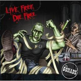 Gonads, The - Live Free Die Free, DOLP Gatefold