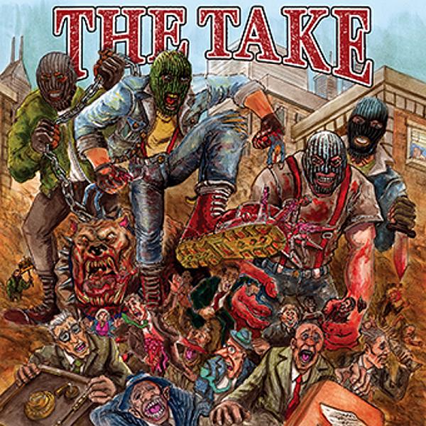 Take, The - s/t., LP schwarz, 1. Pressung