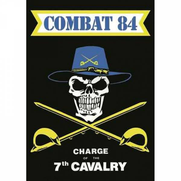 Combat 84 - Charge of the 7th Cavalry, Poster A2