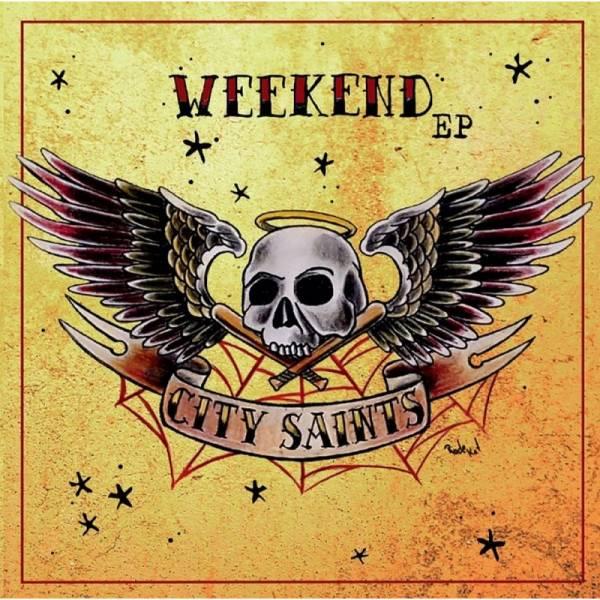 City Saints - Weekend, 7'' lim. verschiedene Farben
