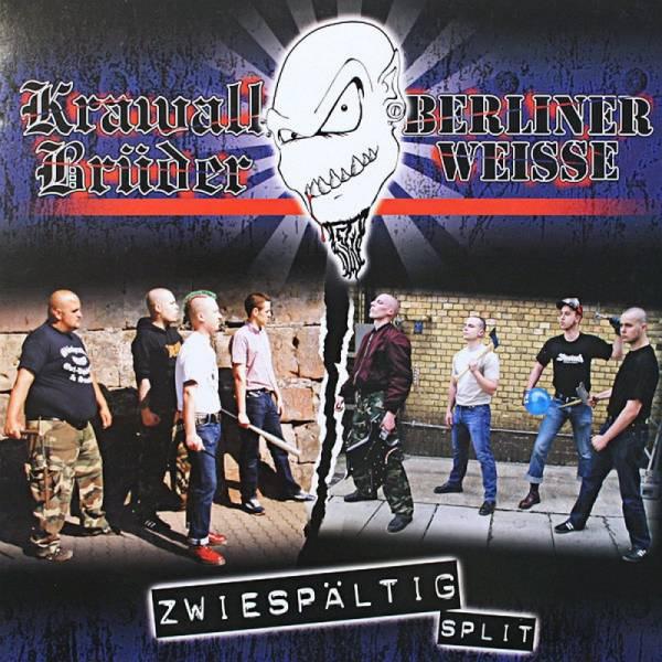 SPLIT KrawallBrüder / Berliner Weisse - Zwiespältig, CD