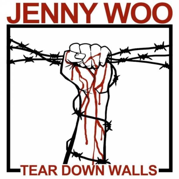 Jenny Woo - Tear down walls, DoLP + DVD lim. 500 verschiedene Farben