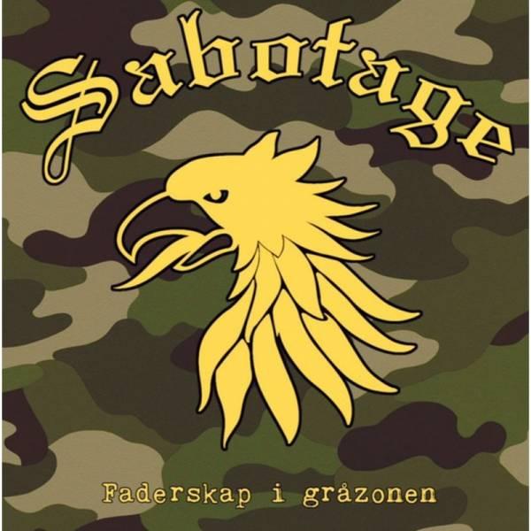 Sabotage - Faderskap i gråzonen, CD Digipack