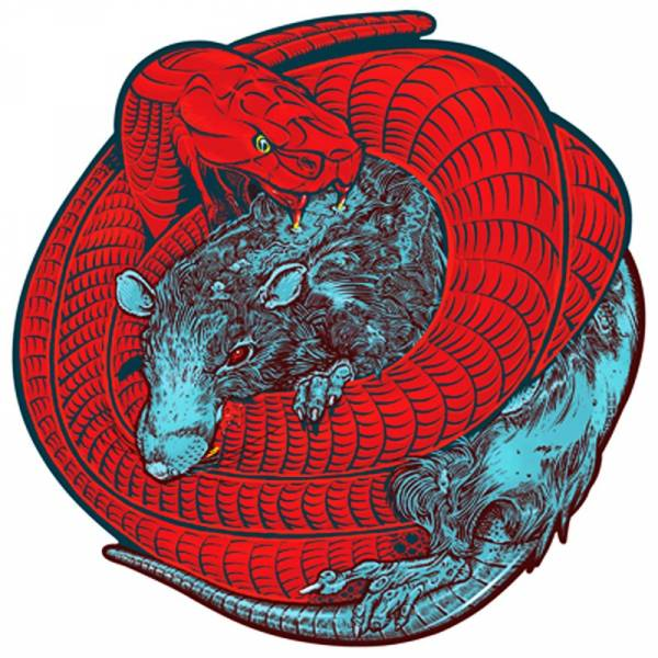 Red Union ‎– Rats and snakes, 10'' Shape Picturedisc, lim. 500