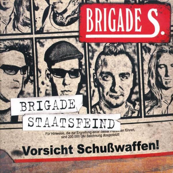Brigade S. - Brigade Staatsfeind, CD DigiPack