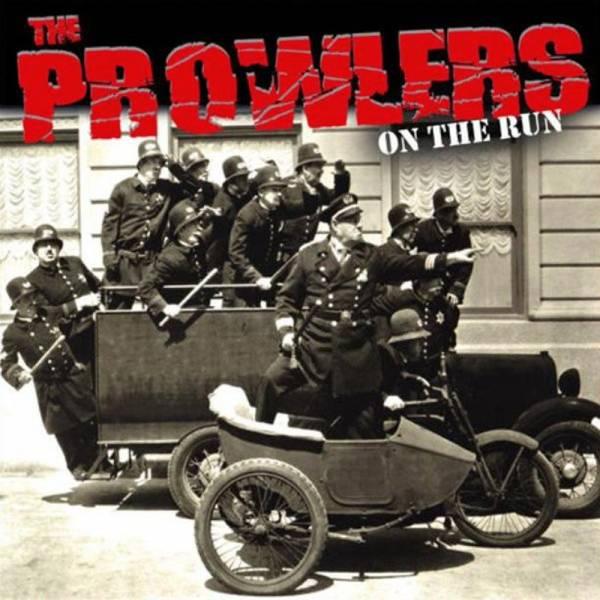 "Prowlers, The - On the run, 10"" lim. 500 verschiedene Farben"