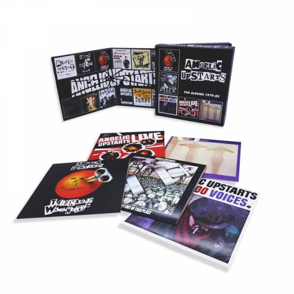 Angelic Upstarts - The Albums 1979 - 82, 5 x CD BOX