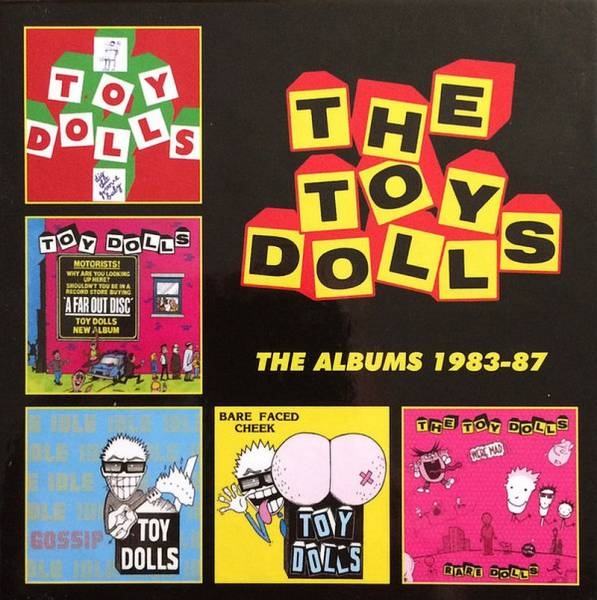 Toy Dolls, The - The Albums 1983 - 87, 5 x CD BOX