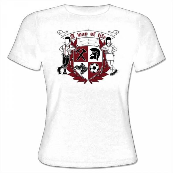 A way of life - since 1969, Girlie Shirt verschiedene Farben