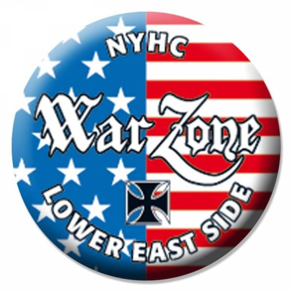 Warzone - Lower Eastside Crew, Button B131