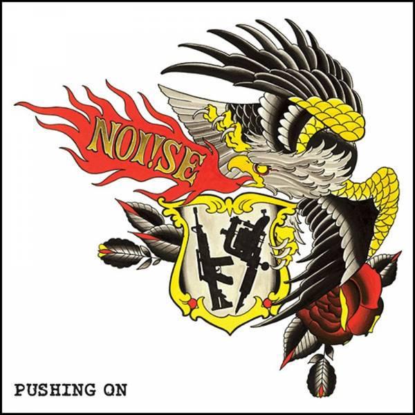 Noi!se (Noise) - Pushing on, LP lim. 100 2. Pressung, verschiedene Farben