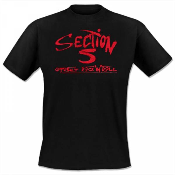 Section 5 - Street Rock 'n' Roll, T-Shirt schwarz