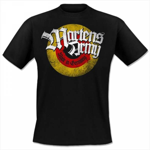 Martens Army - Made in Germany, T-Shirt schwarz