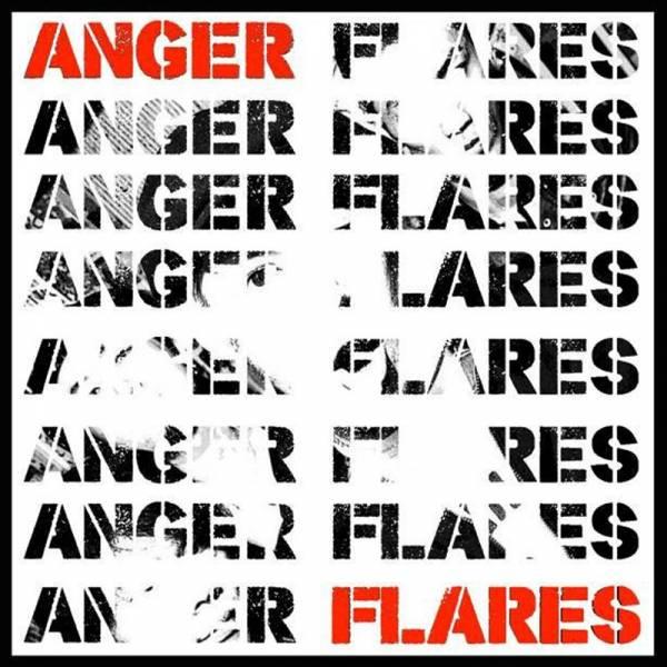 Anger Flares - Anger Flares, 7'' lim. 285 blau