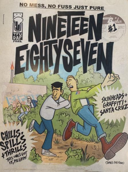 Nineteen Eighty Seven Vol. 1, Comic A4