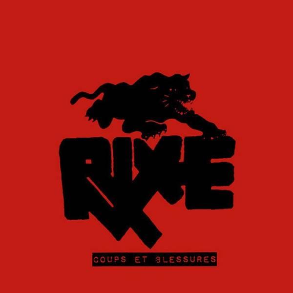RIXE - Coups et Blessures, 7'' schwarz