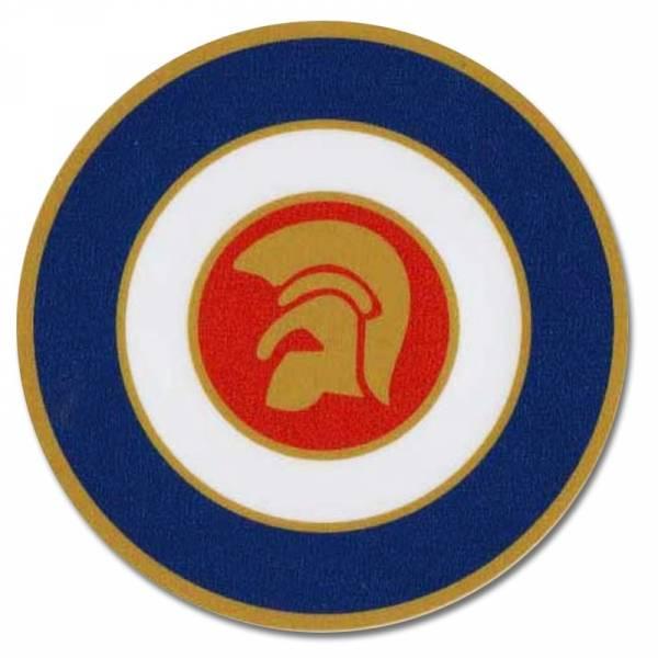 Trojan - Target, Aufkleber rund