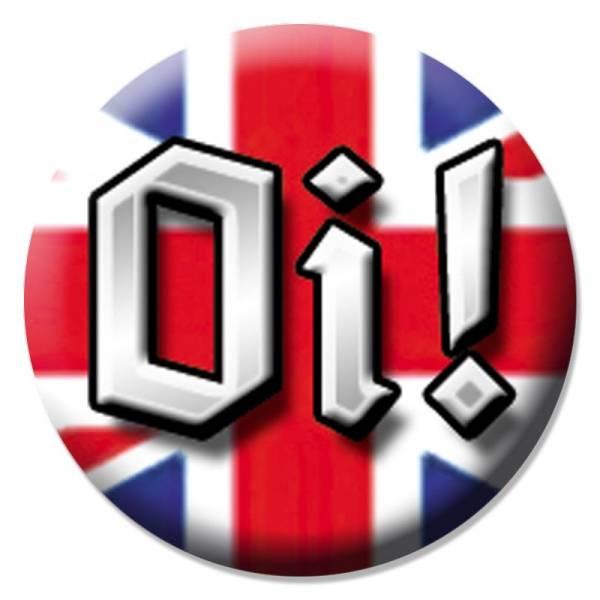 Oi! - Union Jack, Button B079