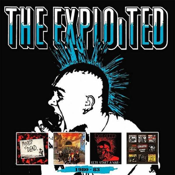Exploited, The - 1980 - 83, 4 x CD BOX