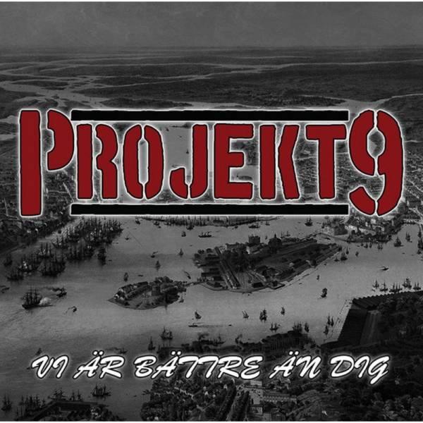 Projekt 9 - Vi Är Bättre Än Dig, CD