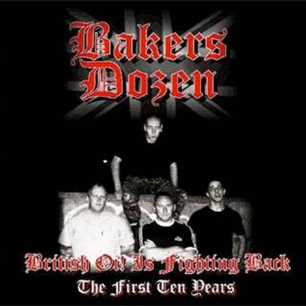 Bakers Dozen - British Oi! is fighting back, CD Digipack