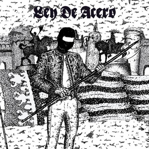 """Ley De Acero - s/t, 7"""" schwarz, lim. 150, Prevail Cover"""
