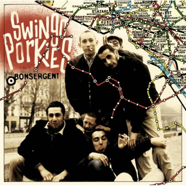 Swingo Porkies ‎– Bonsergent, 10'' Compilation black