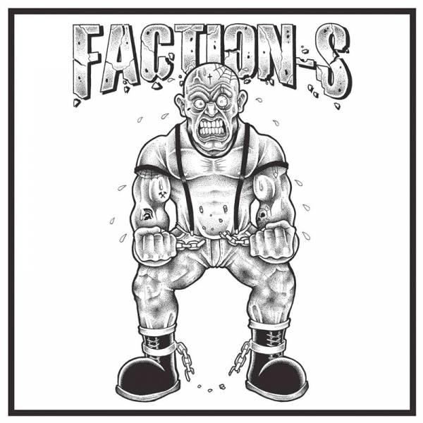 """Faction S – s/t, 12"""" schwarz, lim. 200, verschiedene Cover, handnummeriert"""