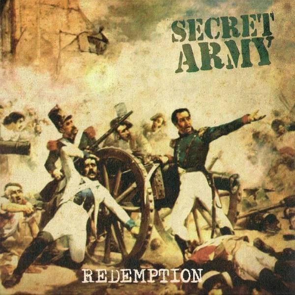 Secret Army - Redemption, 7'' weiß