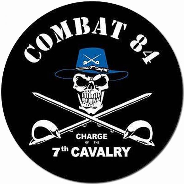 Combat 84 - Charge of the 7th cavalry, Slipmat