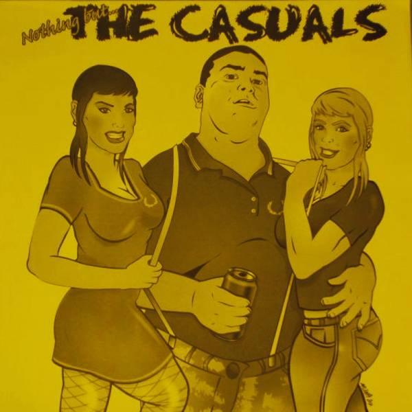 Casuals, the - Nothing but..., LP lim. je10 verschiedene Farben, gelbes Cover