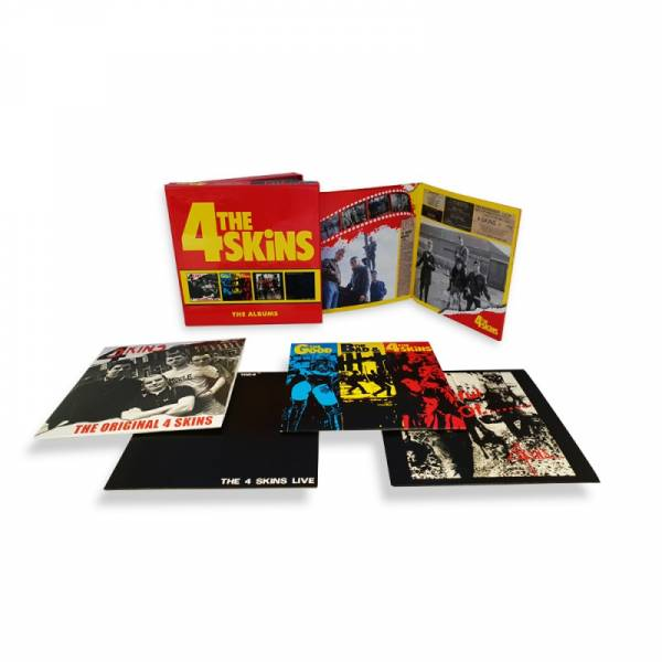 4 Skins, The - The Albums, 4 x CD BOX