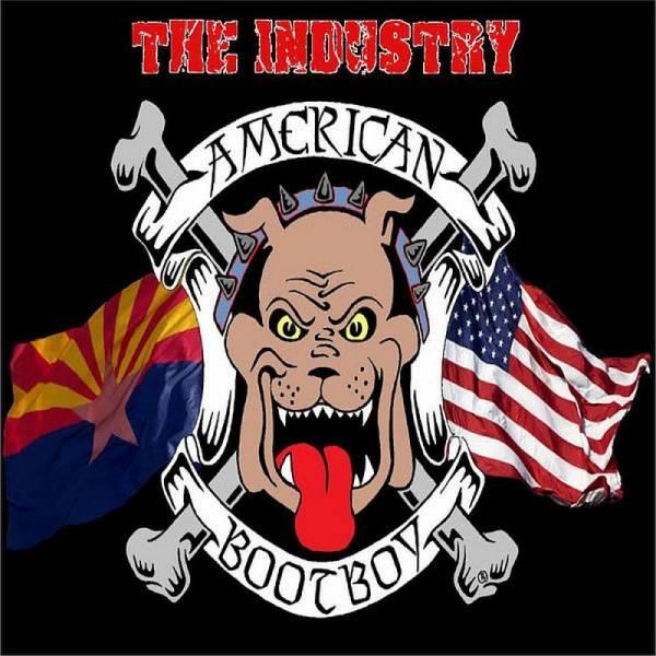Industry, The - American Bootboy, LP lim. 100 schwarz BESCHÄDIGT